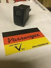 VW GOLF GTI MK2 JETTA.16v GENUINE FRONT REAR FOG FOGLAMP FOGLIGHT LIGHT SWITCH