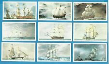 Players Doncella cigar / cigarette cards - THE GOLDEN AGE OF SAIL - 1978