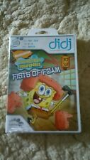 LeapFrog Didj Learning Game SpongeBob SquarePants Fists of Foam 💜💜💜 FREE POST