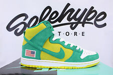 NIKE DUNK HIGH PRO SB ANONYMOUS UNHEARDOF OAKLAND ATHLETICS 305050 337 SZ 8