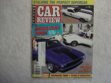 Muscle Car Review 1987 1965 Shelby R, Dodge Charger, Firebird TA, Chevy 11, 442