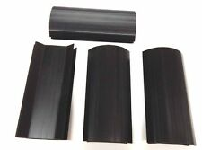 Set Of 4 Larger Black 7 Inch Plastic Corner Miter Cabinet Parts For Pool Tables