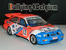 1/43 Trofeu Ford Sierra RS Cosworth #12 Lotus Rally Condroz 1987 Soulet TR4B04