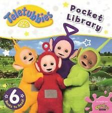 Teletubbies: Pocket Library Six Children Board Books Set Collection 2-4 Years