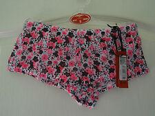 Pantalones cortos de Impresión Floral Rosa/Negro 8/10