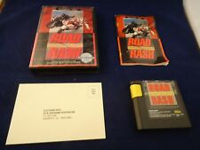 Road Rash 1 (Sega Genesis, 1992) COMPLETE Box manual game WORKS! Roadrash I #N1