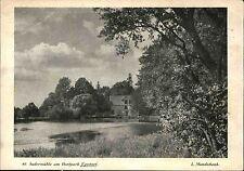 Stempel und Postkarte EGESTORF AK 1931 Partie Sudermühle Dorf-Park Mundschenk