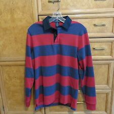 Men's Vineyard Vines long sleve rugby shirt leather elbow patch size XS NWT $145