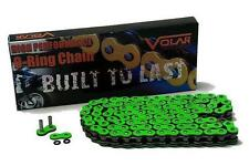 Hayabusa Green Motorcycle Chain 530 x 150 Link ORing Extended Swingarm Extension