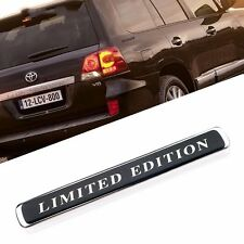 LIMITED EDITION Car Auto Badge Emblem Sticker Black New for Toyota