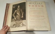 The history of the world. Sir Walter Ralegh (raleigh). 1733.