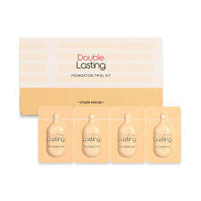 [ETUDE HOUSE] Double Lasting Foundation Trial Kit Sample - 1pack (4colors)