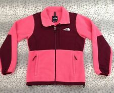 THE NORTH FACE Womens Denali Polartec Fleece Jacket Coat Size M Medium Pink