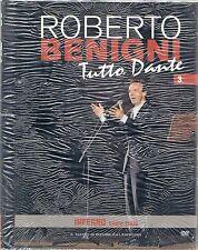 ROBERTO BENIGNI TUTTO DANTE - CANTO TERZO INFERNO DVD NUOVO EDIZ. L'ESPRESSO