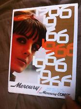 1966 Mercury Monterey Montcalair Parklane Comet  Color Brochure Prospekt