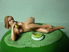 SEXY  GIRL  VALENTINE   1/18   BEMALTE   FIGUR   VON   VROOM   FUR   SAMMLER