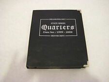 P&D 1999-2008 Fifty State Commemorative Quarters Book Free Shipping