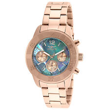 Invicta Women's 21611 Angel Quartz Chronograph Platinum Dial Watch