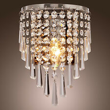 Bedside Modern Crystal Chandelier Light Home Decoration Light Lamp Wall Mounted