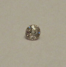 Old Cut Round Loose Natural 0.10 Carat Diamond I1 J/K NEW