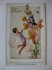Vintage 1936 The Snapdragon Fairies Postcard by Margaret W. Tarrant