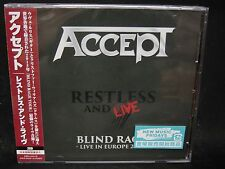 ACCEPT Restless And Live Blind Rage - Live In Europe 2015 JAPAN 2CD Don Dokken