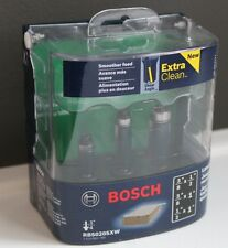 BOSCH 1/4'' Shank Laminate Trim Set RBS020SXW Extra Clean Smooth Feed New In Box