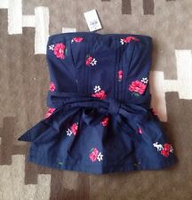 Abercrombie and Fitch women's tube top, XS, NWT