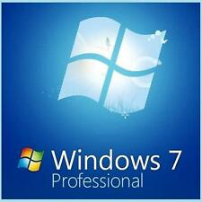 Microsoft Windows 7 Professional PRO 64 Bit Full Version SP1 & *Laptop Computer*