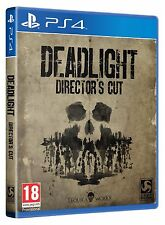 DEADLIGHT DIRECTOR'S CUT SONY PS4 ENGLISH PAL NEW SEALED