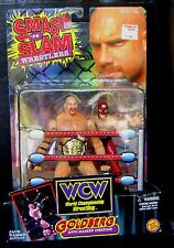 "New! 1999 Toy Biz WCW Smash 'N Slam Wrestlers ""Goldberg"" Action Figure {1225}"