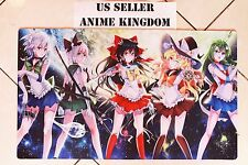 Custom Yugioh CARDFIGHT VANGUARD MTG WOW Playmat Sexy Sailor Moon Touhou #599