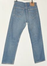 "SUPERB MEN'S JEANS BLUE LEVI STRAUSS & CO 501 XX W32"" L30"""