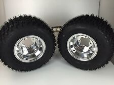 NEW Honda TRX450R / TRX400EX Polished Aluminum Rear Rims & MassFx Tires Wheels