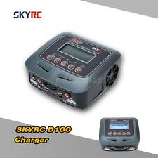 SKYRC D100 100W LiPo LiFe LiIon NiCd Battery Charger Discharger US Plug N0QO