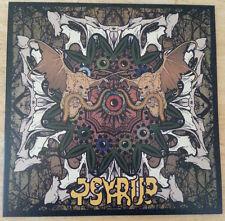 """Psyrup 0 Epic Space Metal 12"""" Vinyl Swamp Green/Black Splatter Limited Edition"""