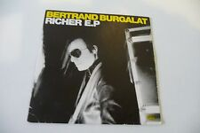 BERTRAND BURGALAT CD PROMO POCHETTE CARTONNEE RICHER E.P