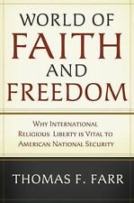 Thomas A Farr - World Of Faith And Freedom (2008) - Used - Trade Cloth (Har