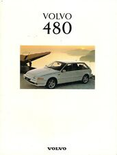 Volvo 480 1992-93 UK Market Sales Brochure S ES Turbo