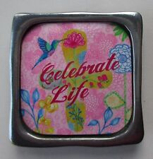 u Celebrate life dragonfly MULTIPLE BLESSINGS METAL MAGNET refrigerator locker
