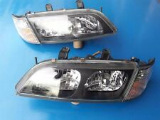 JDM Nissan Primera P11 G20 Crystal Black XENON HID Headlight Head Lights Lamps
