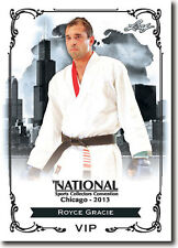 (12) ROYCE GRACIE - 2013 Leaf National Convention VIP Promo UFC - MMA Card LOT