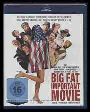 BLU-RAY BIG FAT IMPORTANT MOVIE - LESLIE NIELSEN + DENNIS HOPPER + PARIS HILTON