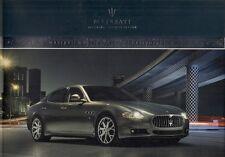 Maserati Quattroporte & Quattroporte S 2008-09 mercado del Reino Unido Folleto de ventas