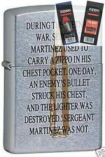 Zippo 6331 vietnam war bullet Lighter with *FLINT & WICK GIFT SET*