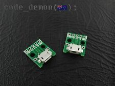Micro USB Breakout Board Power Charging Converter Module Arduino / Android (x2)