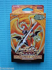 YU-GI-OH Dragunity Legion Structure Deck ITALIANO 1st Edition NEW NUOVO CON SCATOLA