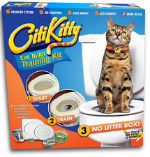 Cat Toilet Training Kit by CitiKitty - Save $$$$