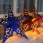 30-75cm Colorful Star Lampshade Paper Lantern Hanging Wedding Xmas Party Decor