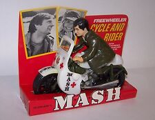 M.A.S.H. Freewheeler Cycle & Rider w/Display Card New UNUSED 1969 TV Show